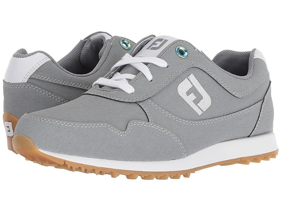 FootJoy Sport Retro Spikeless Street Sneaker (All Over Grey) Women