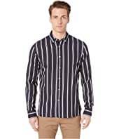 Todd Snyder - Satin Stripe Button Down