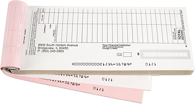 Quick Entry Deposit Book Duplicates