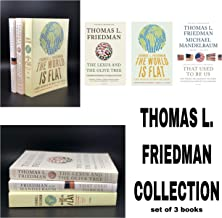 Thomas L. Friedman Collection (3 Book Set: That Used To Be Us, World Is Flat 3.0, The Lexus & the Olive Tree)