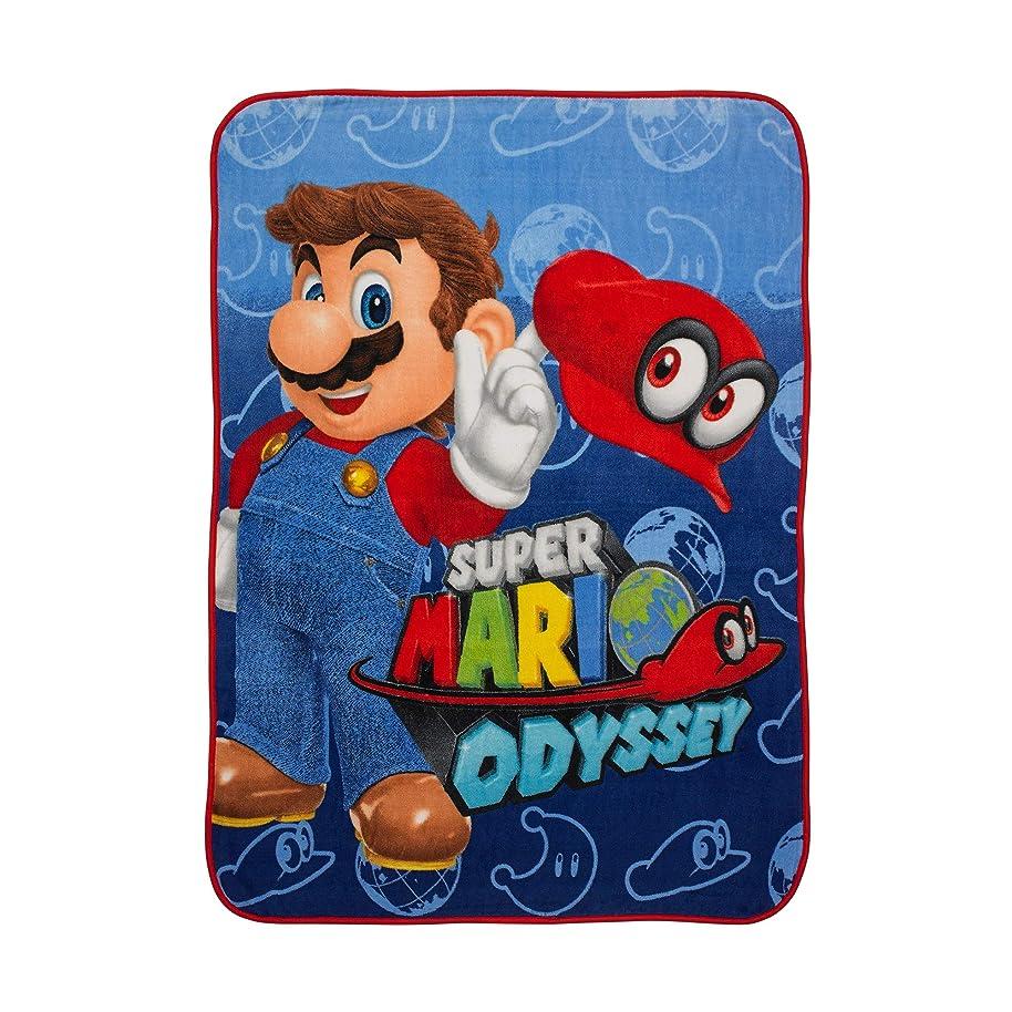 Nintendo Super Mario I Got This Microraschel Throw, 46