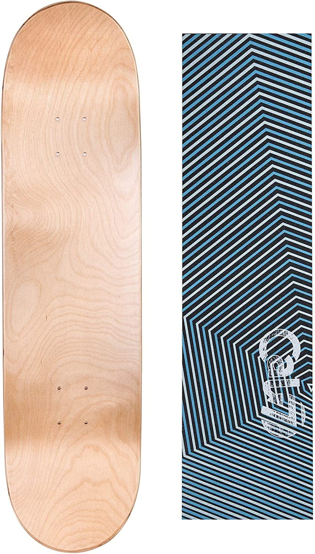 "Legit skateboard deck 7.75/""X 31/"" quality Gripped FLY RIGHT C2"