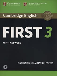 Cambridge English First 3 Student's Book with Answers with Audio (FCE Practice Tests)