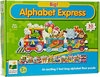 The Learning Journey Big Alphabet Express 5ft. Long Floor Puzzle