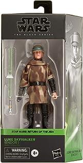 Star Wars The Black Series Luke Skywalker (Endor) Toy 6-Inch Scale Star Wars: Return of the Jedi Collectible Figure, Kids ...