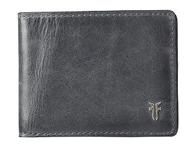 Frye Austin Slim ID Bifold (Carbon) Handbags