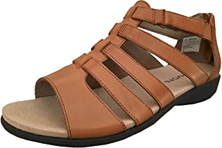 Aravon Women's Abbey Gladiator Flat Sandal