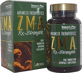 Nature's Plus ZMA Rx-Strength. zinc/magnesium aspartate. 90 Caps by Nature's Plus