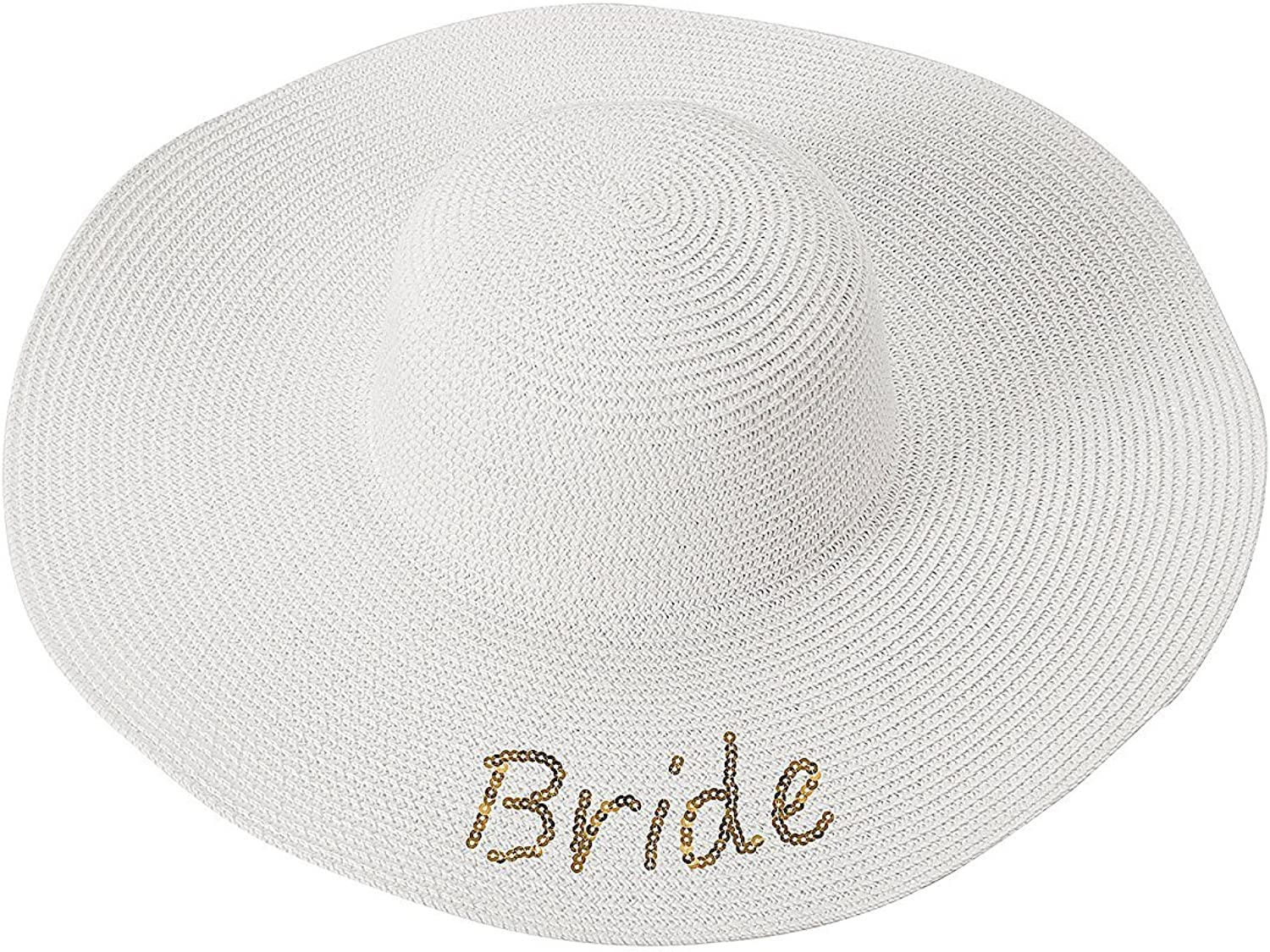 Cathy's Concepts Sequin Bride Sun Hat