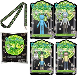 Funko Posable Rick & Morty Action Figures 4 Pack 5