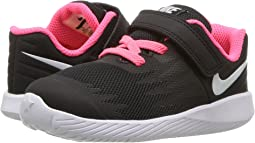 5b95cb3c06 Nike Kids. Star Runner TDV (Infant/Toddler). $38.00MSRP: $43.00.  Black/White/Volt/Racer Pink