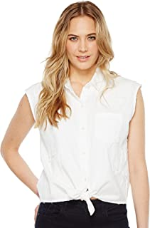 Joe's Jeans Women's Vivian White Denim Shirt
