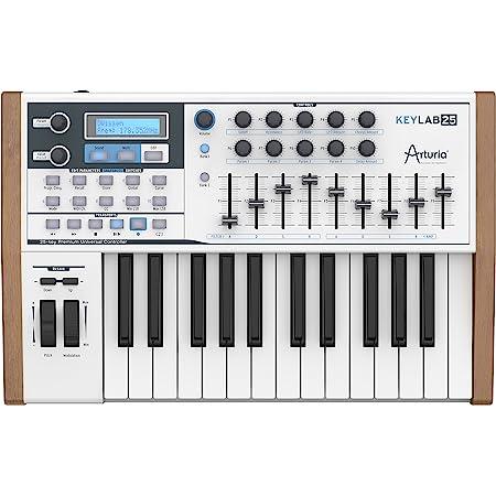 Arturia Keylab 25- Sintetizador teclado encoders faders