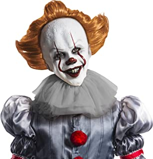 IT Movie Chapter 2 Adult Pennywise Overhead Latex Mask Adult Costume