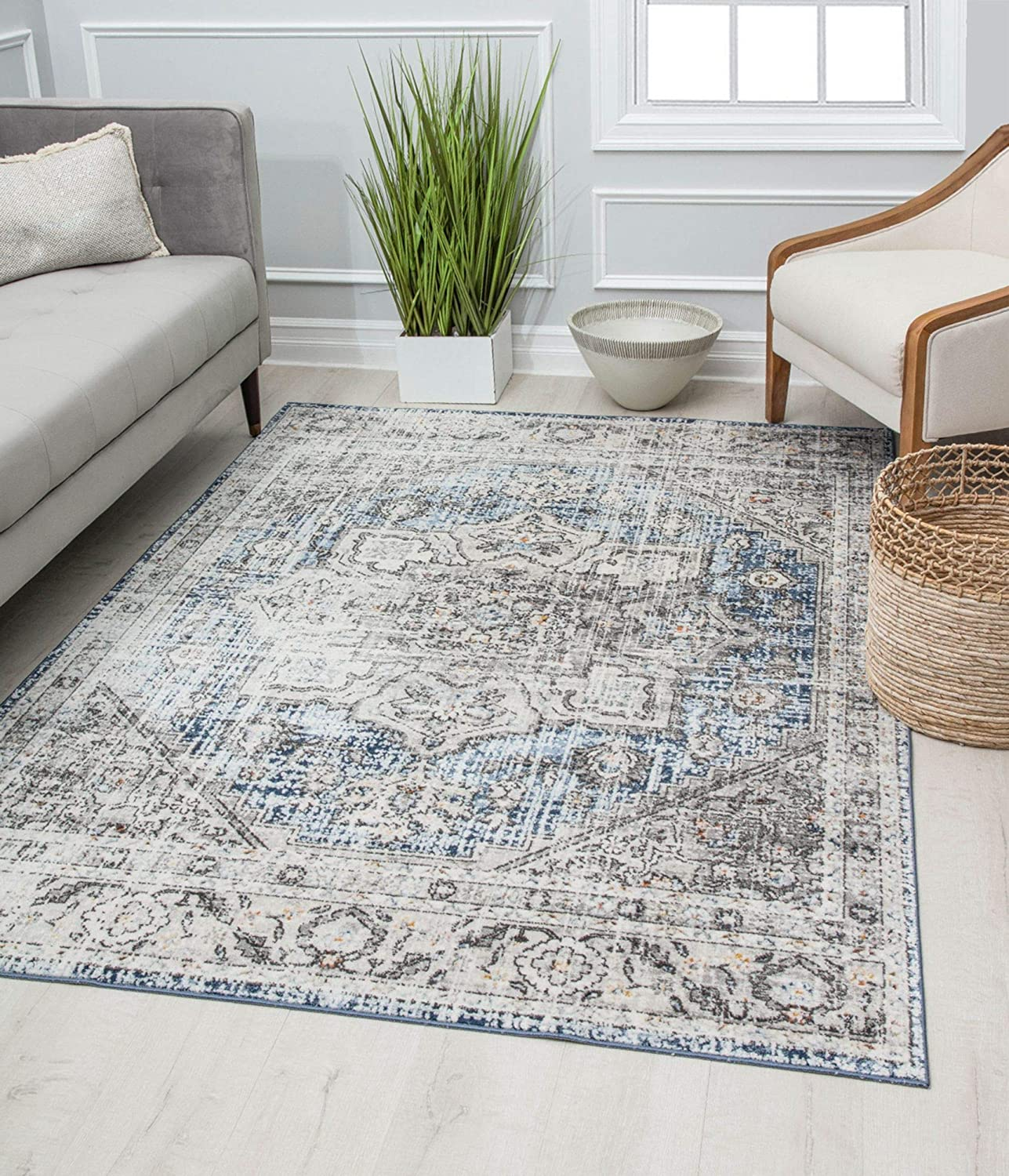 Rugs America PS40A Area Rug, 2'6