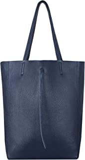 SKUTARI® LEDER VITTORIA Classic | Damen Shopper | Handtasche | Schultertasche | eingenähter Innentasche | Ledertasche | Be...