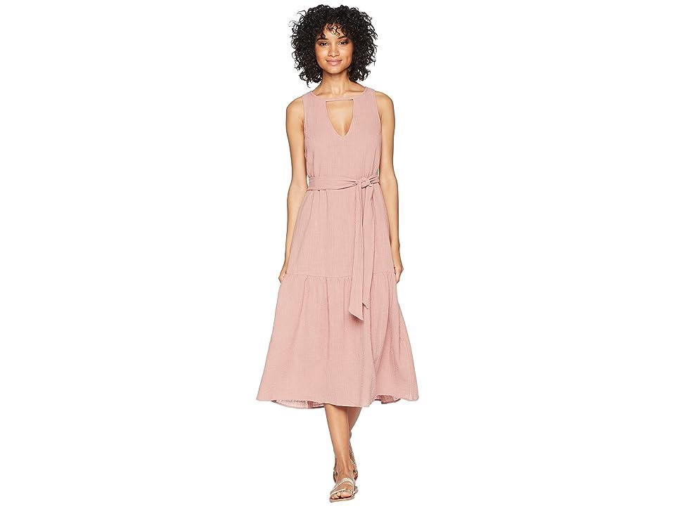 Rachel Pally Gauze Lanna Dress (Mauve) Women