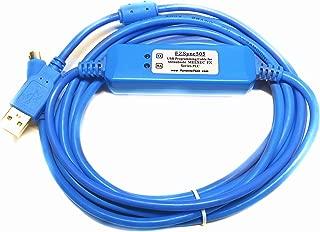 EZSync USB Programming Cable for Mitsubishi Melsec FX Series PLCs, USB to RS422, FX-USB-AW Compatible, EZSync505
