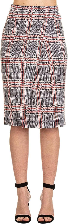 Manuel Ritz Women's 2636DD01Y19313089 Grey Wool Skirt