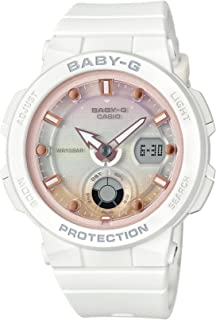 [カシオ] 腕時計 ベビージー BEACH TRAVELER BGA-250-7A2JF レディース ホワイト
