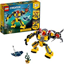 LEGO Creator 3in1 Underwater Robot 31090 Building Kit, 2019 (207 Pieces)