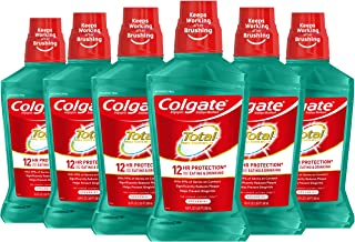 Sponsored Ad - Colgate Total Pro-Shield Alcohol Free Mouthwash, with CPC (Cetylpyridinium Chloride), Antibacterial Formula...