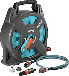 Gardena 2662-U Classic 54-Foot 3/8-Inch Garden Hose and Reel Set
