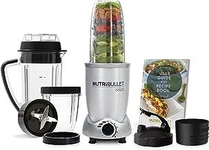 Nutribullet N9c-0907 Select 10 Piece Nutrient Extractor Set, Silver