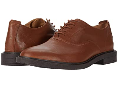 Hush Puppies Davis Oxford PF (Cognac Leather) Men