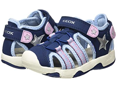 Geox Kids Sandal Multy 12 (Toddler) (Medium Pink) Girl