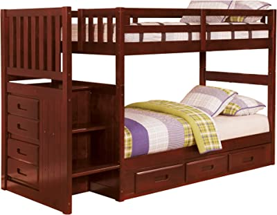 Amazon Com South Shore Complete Loft Bed Logik Sand Castle