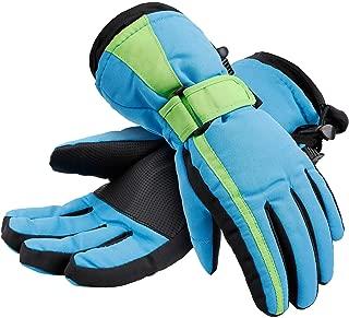 Lullaby Kids Thinsulate Cotton Kid's Windproof Waterproof Snow Ski Gloves