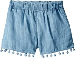 Pom Pom Shorts (Big Kids)