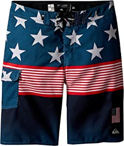 Division Independent Boardshorts (Big Kids)