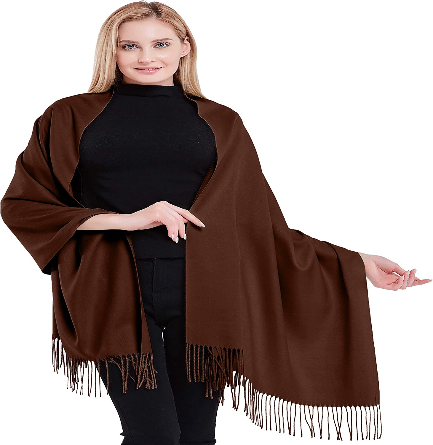 100% OFFer Cashmere Shawl Pashmina Overseas parallel import regular item Scarf Face Head Cov Wrap Stole