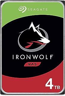 Seagate IronWolf 4TB NAS Internal Hard Drive HDD – 3.5 Inch SATA 6Gb/s 5900 RPM 64MB..