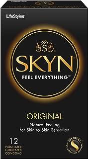 Lifestyles Skyn Polyisoprene Condoms, 12 Count (Pack of 1)