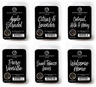 Milkhouse Candles Variety Fragrance Melts - Apple Strudel, Citrus & Lavender, Oatmeal, Milk & Honey, Pure Vanilla, Sweet T...