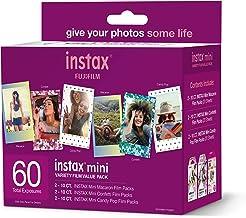 Fujifilm Instax Mini Variety Film Value Pack 60 Count