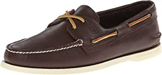 Sperry Top-Sider Authentic Original Leather Boat Shoe Men 9 Classic Brown