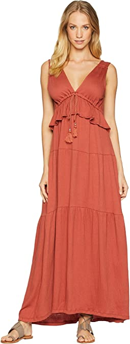 Delphina Tiered Maxi Dress