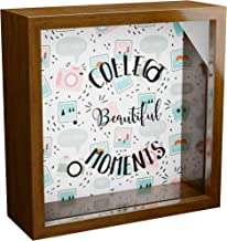 Photographer Gifts | 6x6x2 Wooden Shadow Box Ideal for Photographers | Keepsake Frame Gift for Photography Lovers | Camera...