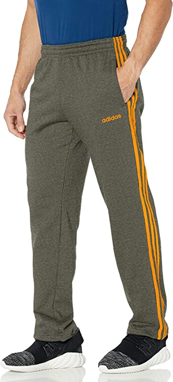 Amazon.com: adidas Men's Essentials 3-Stripes Fleece Jogger Pants ...