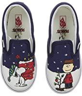 Vans Kids - Classic Slip-On x Peanuts Christmas (Toddler)