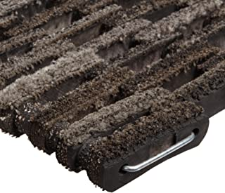 Durable Dura-Rug Recycled Fabric Tire-Link Outdoor Entrance Mat, 14