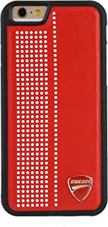 Ducati Monster D2 Synthetic Leather Back Case for iPhone 6/6S 4.7'' (Red)