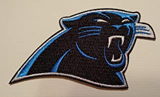 Iron On Patch Carolina Panthers 3.5 INCH Top Quality