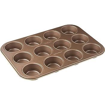 Bergner Bake PATA Cream Backform für 12 Muffins 35 x 26,5 x
