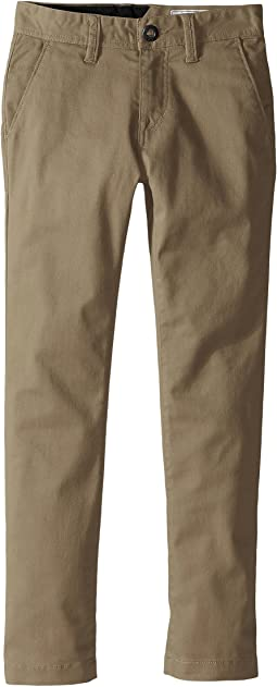 Volcom Kids Frickin Modern Stretch Chino Pants (Big Kids)
