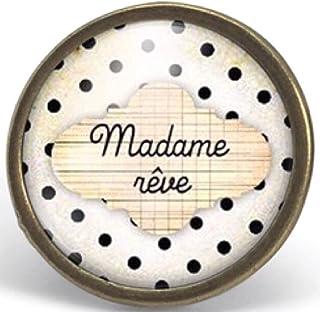 """Anello cabochon nuvola""""madame rêve"""" - Regalo di Natale - idea regalo - regalo moglie - San Valentino- regalo di compleanno..."""
